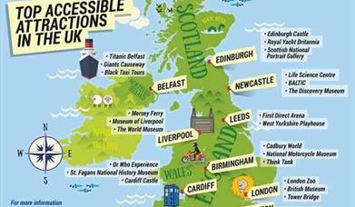 Saga Magazine Rates The UK's Top Accessible Attractions