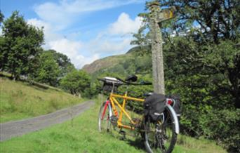 Explore the Elan Valley, Rhayader and Offa's Dyke on our mid wales cycling holidays www.wheelywonderfulcycling.co.uk