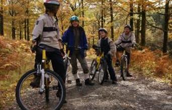 Cycle trails in Dalby Forest