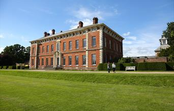 Beningbrough Hall and the south lawn