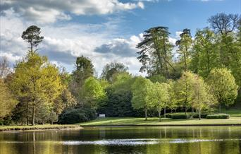 Claremont Landscape Garden Lake early autumn - © NTI Andrew Butler