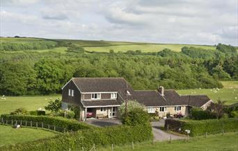Colesmoor Farm in unspoilt Dorset countryside.
