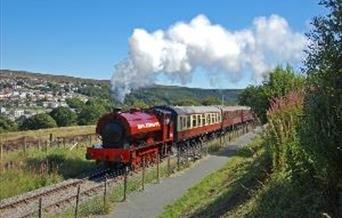 Steaming away from Blaenavon