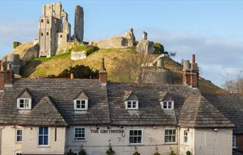 The Greyhound Inn at Corfe Castle